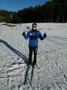 Mickael FAGOT - Champion de France de Ski de fond