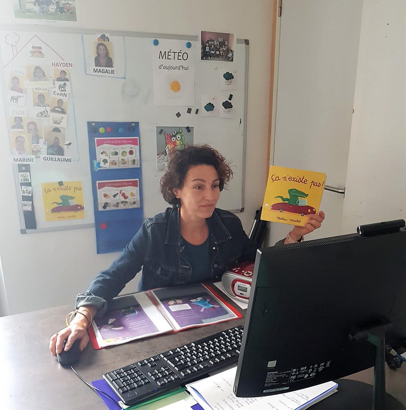 Magalie Peugnet éducatrice L'Armaillou