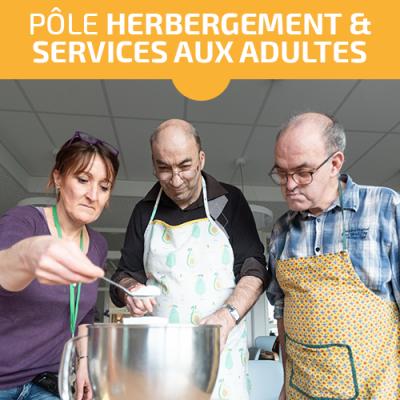 Actualité Pôle Hébergement et Services aux adultes