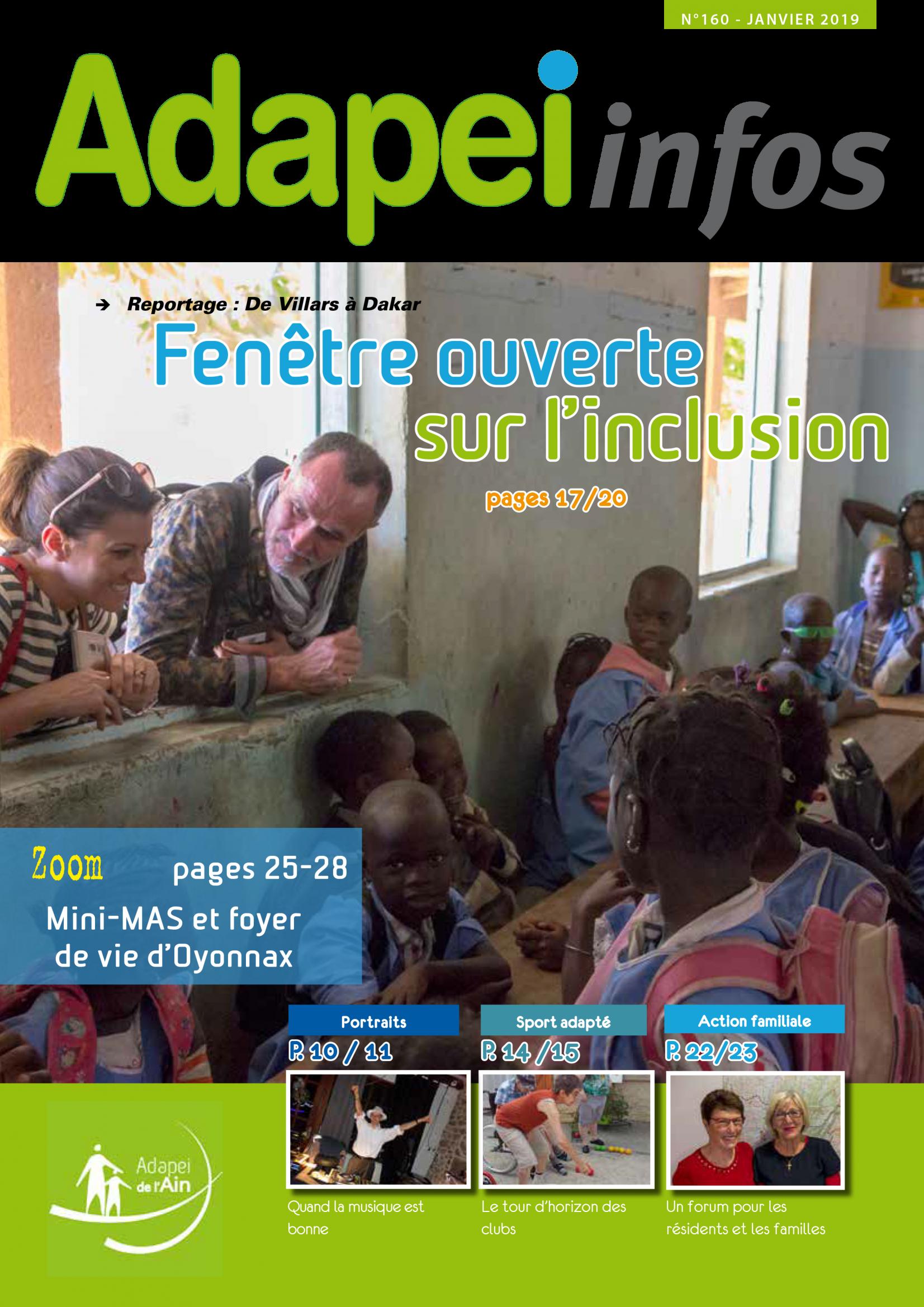 Adapei infos - Janvier 2019